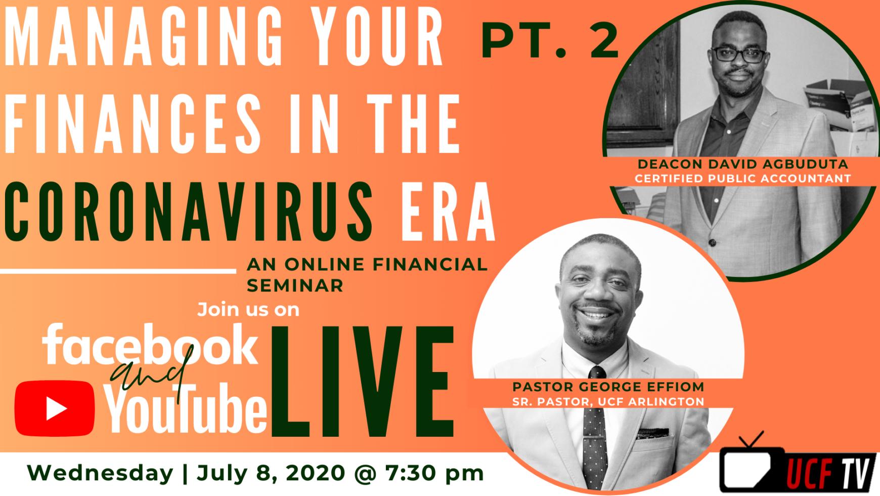 UCF TV- Ep. 3 | Managing Your Finances in the Coronavirus Era (Pt. 2)